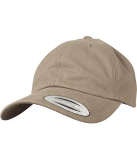 Casquette Incurvée Flexfit Low Profile Peached Cotton Twill Beige