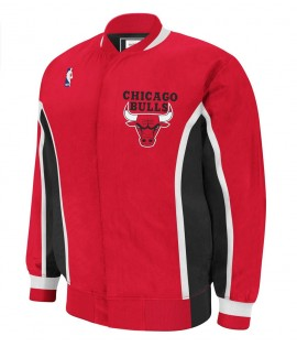 Veste Mitchell & Ness Chicago Bulls Authentic Warm Up 92-93 Hardwood Classics