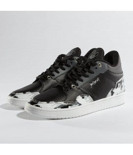 Chaussures Who Shot Ya? / Sneakers Camo Noir