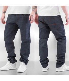 Jean Rocawear Straight Fit Leather Patch Gris