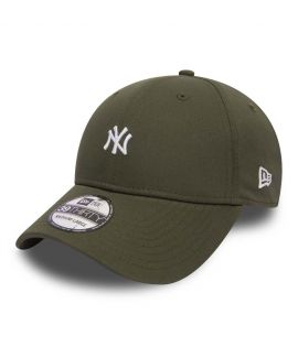 Casquette New Era 3930 New York Yankees Mini Logo Olive