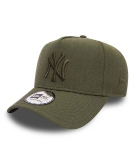 Casquette Trucker New Era New York Yankees Seasonal Heather Aframe Olive