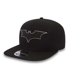 Casquette New Era 9Fiifty DC Comics Batman Blacked Out Noir Mesh
