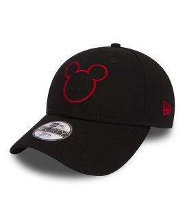 Casquette Enfant New Era Mickey Disney Silhouette Child 9Forty Noir