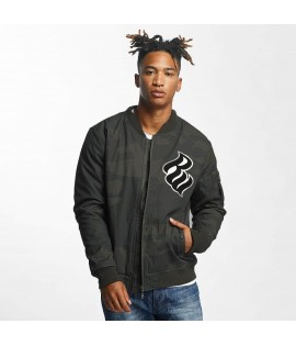Blouson Bomber Rocawear Retro Army Camouflage