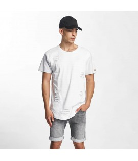 T-shirt Rocawear Stripes Blanc