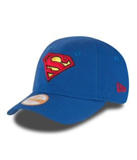 Casquette Bébé New Era DC Comics Superman Hero Essential Bleu Roi Infant 9Forty