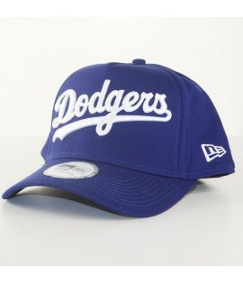 Casquette Trucker New Era Los Angeles Dodgers MLB Word Official Bleu Marine