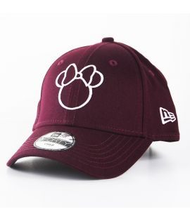 Casquette Enfant New Era Minnie Disney Silhouette Child 9Forty Bordeaux