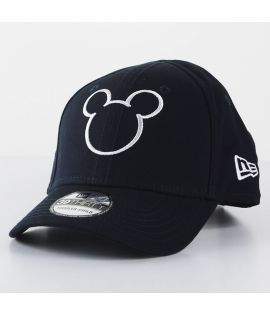 Casquette Enfant New Era Mickey Disney Silhouette Child 9Forty Bleu Marine