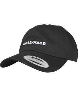 Casquette Incurvée Turn Up Hollyweed Dad Noir